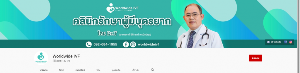 Worldwide IVF - youtude
